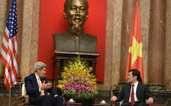 Kerry: US, Vietnam Entering