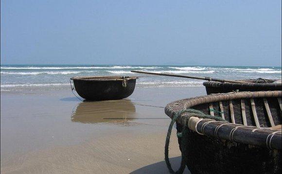 At China Beach, Vietnam