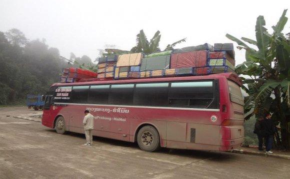Nightmare Bus from Vietnam to