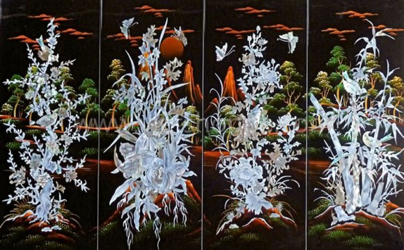 Learn Lacquer Painting in