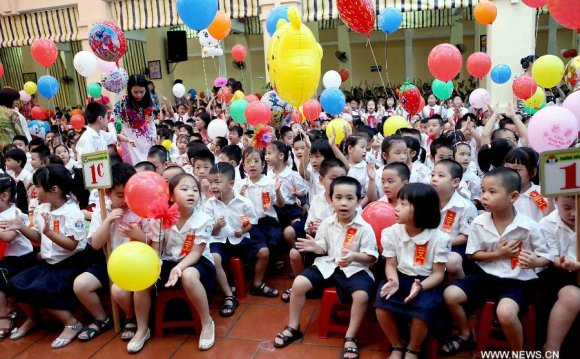 Middle schools in Vietnam