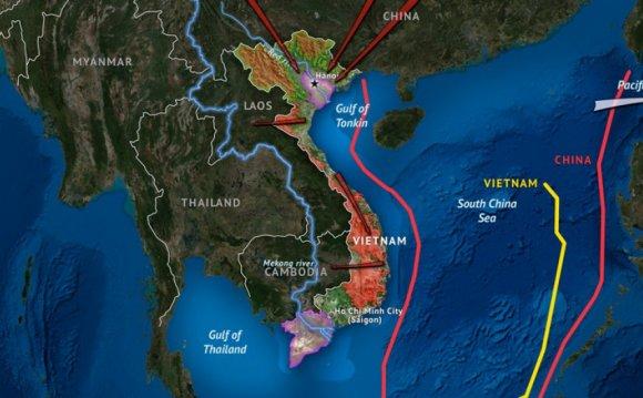 Vietnam s Geographic Challenge