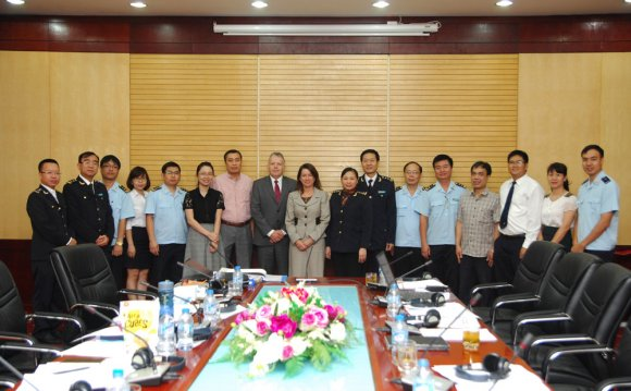 With Vietnam Customs to