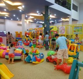 an inside play center in Ho Chi Minh City's District 2