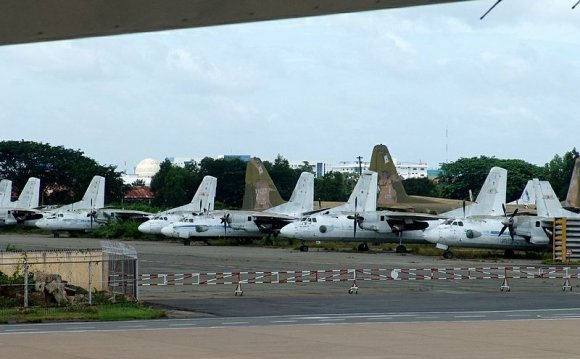 Vietnam transport aircraft
