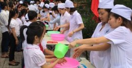 young ones attend on a clean liquid academic occasion, Viet Nam.