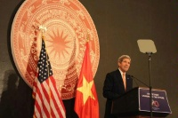 Date: 08/07/2015 area: Hanoi, Vietnam details: Secretary Kerry provides remarks on U.S.-Vietnam: seeking to tomorrow during the Daewoo resort, Hanoi, Vietnam. - State Dept Image