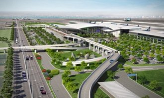 extended Thanh airport terminal