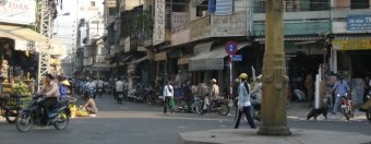 the hubbub associated with the roads of saigon