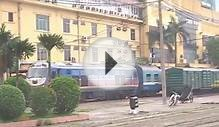 Ga Ha Noi - Main HaNoi train station, Vietnam - Train 01
