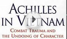 Health Book Review: Achilles in Vietnam: Combat Trauma and