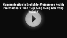 Read Communication in English for Vietnamese Health