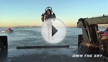 The best way to see the Statue of Liberty is with a jetpack