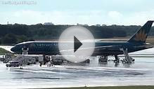 Vietnam Airlines Boeing Landing at Berlin Tegel