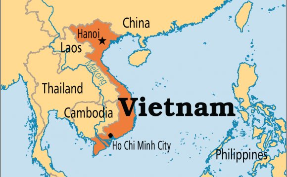Where is Vietnam located?