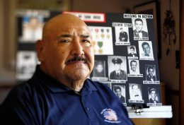 Frank Lopez, a Vietnam veteran, led a crusade to erect a memorial to San Jose servicemen just who died during the Vietnam War.