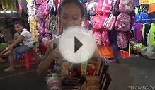 I help poor children go to school. Vietnam charity video.